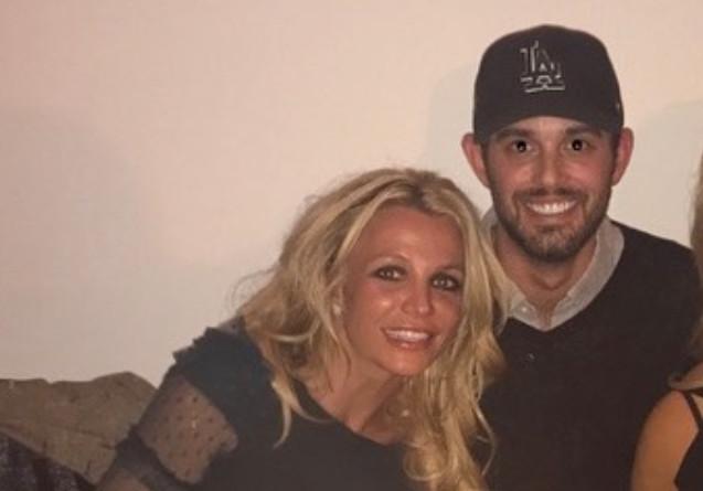 Britney Spears en haar beste vriend én manager Cade Hudson.