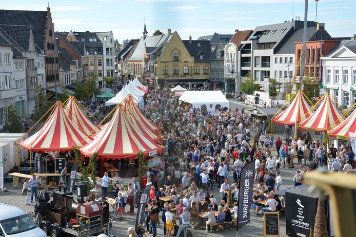 Op 17, 18 en 19 september is er opnieuw Lekker Westhoeks (archiefbeeld) op de Grote Markt in Poperinge. Een Covid Safe Ticket is nodig om te kunnen genieten van het lekkerste festival van de Westhoek.