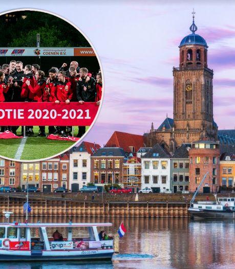 GA Eagles naar de eredivisie: 'Onbetaalbare promotie voor Deventer én heel Overijssel'