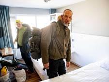 Badgasten en daklozen in één hotel in Scheveningen