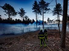 'Disco-rook' boven Rucphense Heide: grootschalige oefening brandweer