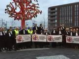 Mes in rechtsbijstand, advocaten protesteren in Breda: 'Fundament rechtsstaat wordt verkwanseld'