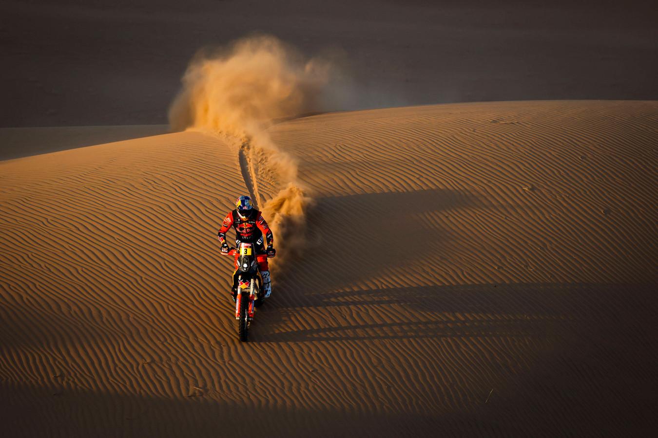 Voor Toby Price is de Dakar Rally voorbij.