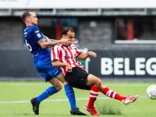 Eerste duel in dik 300 dagen levert De Treffers punt op bij Jong Sparta, back Wouters breekt pols