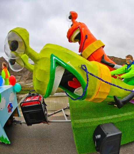 Mierlose carnavalsvereniging De Kersepit 'duikt' in De Koffer