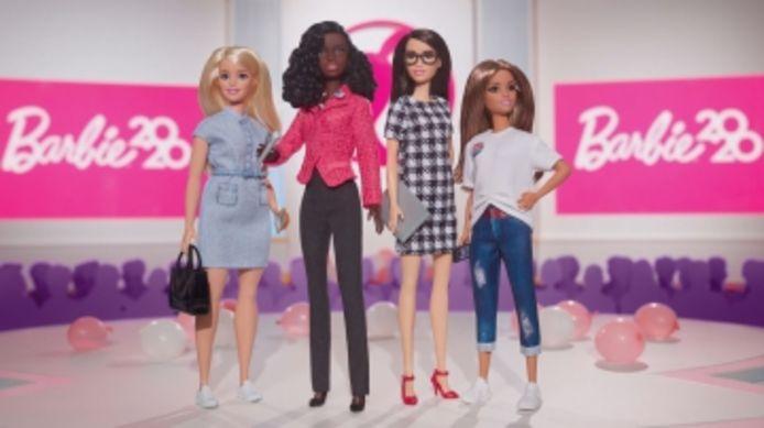 Un coffret Barbie pour l'élection présidentielle de 2020.