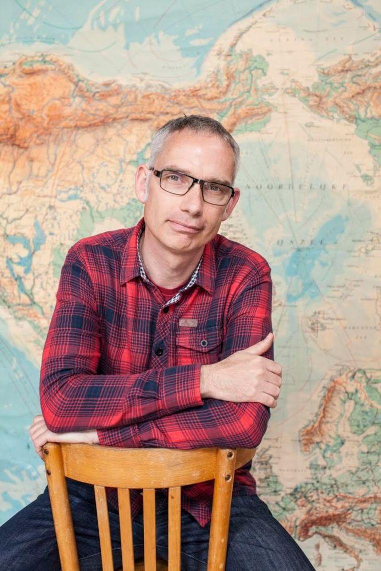 Historicus Adwin de Kluyver verkent de Zuidpool. Beeld rv