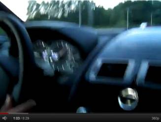 Bestuurder die 293 km/uur reed, kan vervolgd worden op basis van videobeelden