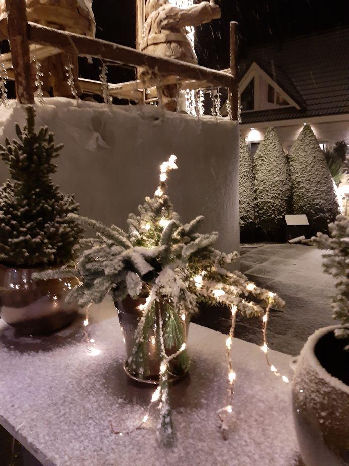 Sneeuw, lichtjes: wat wil je nog meer!