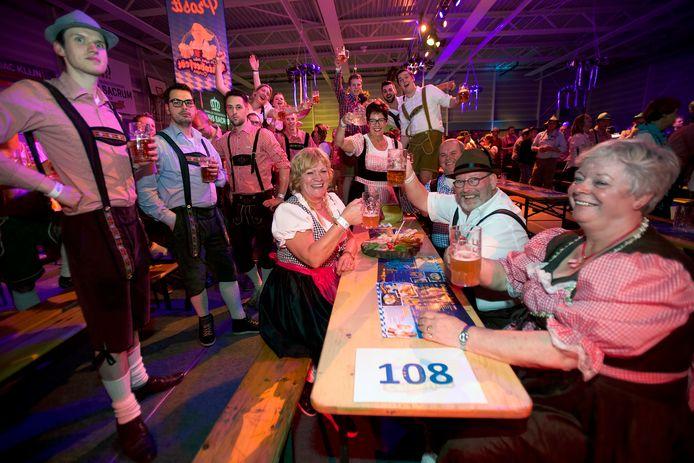Twee jaar geleden vond in De Salamander het Oktoberfest plaats.