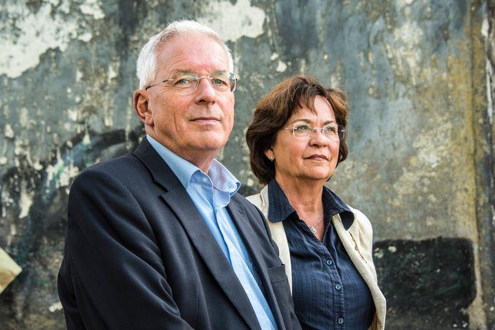 Ex-burgemeester Peter de Koning van Gennep samen met zijn vrouw Edith Ensinck op Kemna.