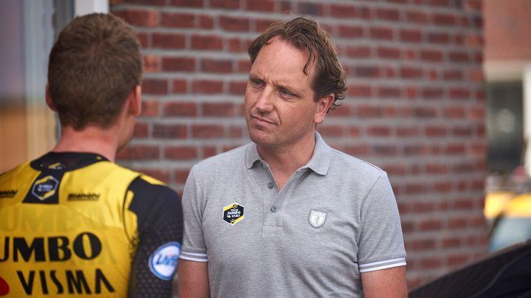 Merijn Zeeman tijdens de Tour de France, vorig jaar. Beeld Bram Berkien