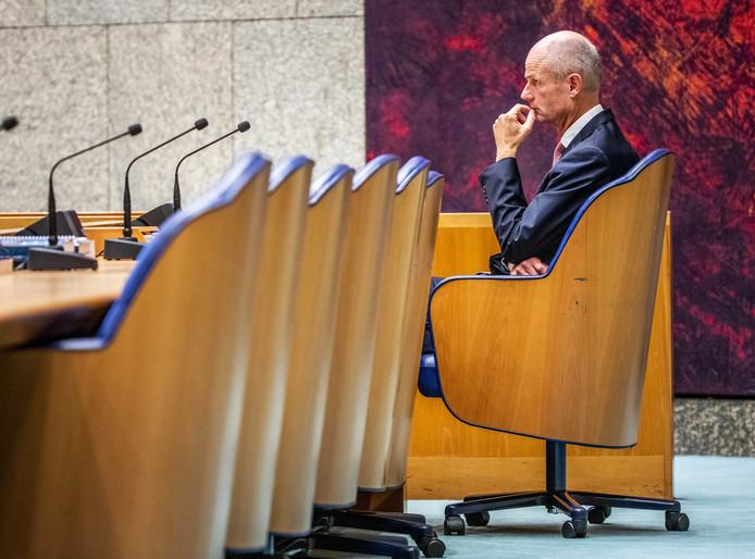 Minister Stef Blok zat dit jaar op Prinsjesdag niet in de Ridderzaal. Hij was de designated survivor. Al wil hij dat zelf niet bevestigen.