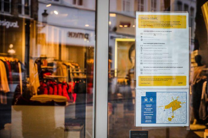 Brugge maakt zich klaar om de winkels te heropenen.