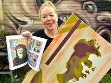 Renske (42) maakt prachtige kunstwerken op 'lelijke' elektriciteitskastjes
