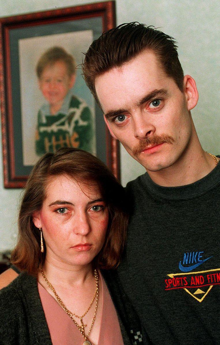 Denise met Ralph Bulger, vader van Jamie. De twee zijn inmiddels niet meer samen.