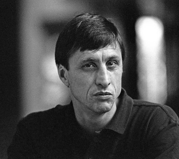 Johan Cruijff in 1987. Beeld anp