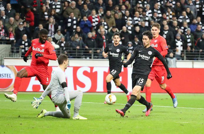 Salzburg-Eintracht Frankfurt.
