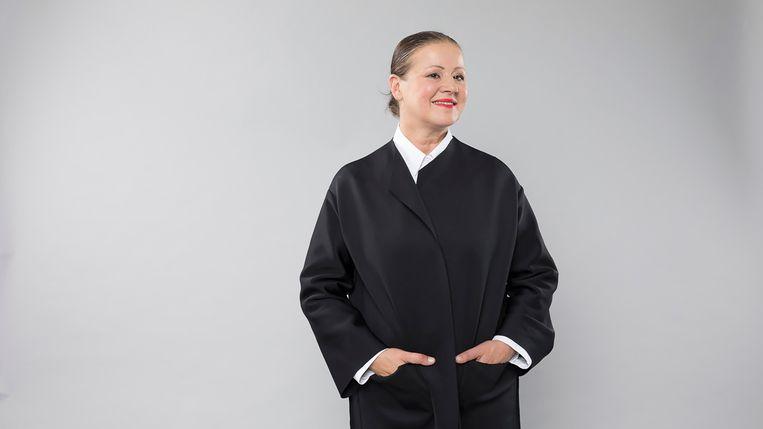 Klara-nethoofd Chantal Pattyn.  Beeld RV VRT / Kaat Pype