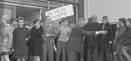 RHC zoekt verhalen achter de foto's: Demonstreren bij de Christelijke ULO in Eindhoven