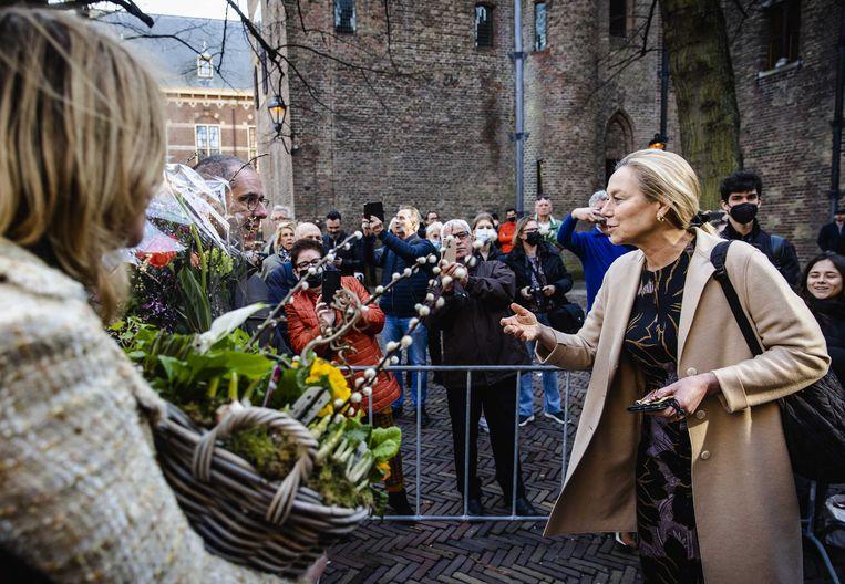 D66-leider Sigrid Kaag. Beeld ANP