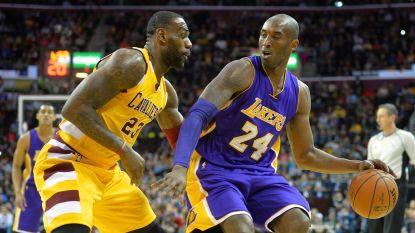 """Kobe Bryant tweette vannacht nog felicitaties naar LeBron James: """"Veel respect, my brother"""""""