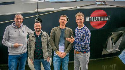 Terug van weggeweest: 'Temptation'-Gringo en Tim De Pril in 'Gert Late Night'