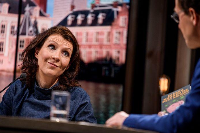 """TT-2021-7759 Esther Ouwehand aan de gesprekstafel op de UT: """"Voorsorteren op links kabinet dat klimaatcrisis oplost"""""""