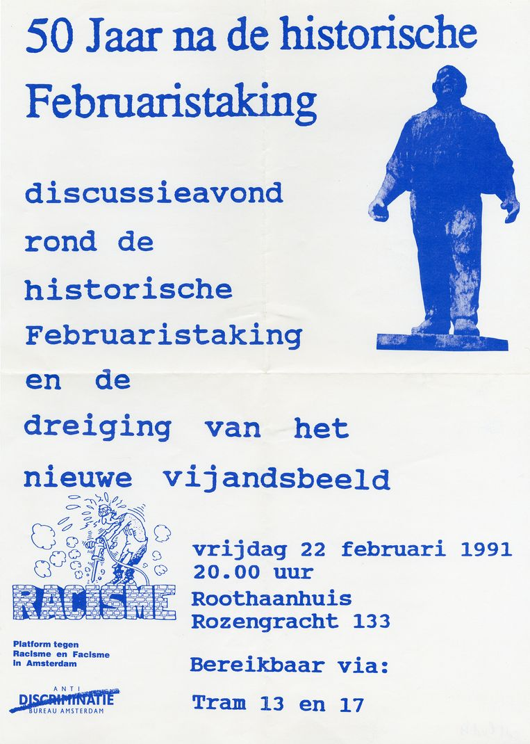 1991. Beeld Comité Herdenking Februaristaking 1941
