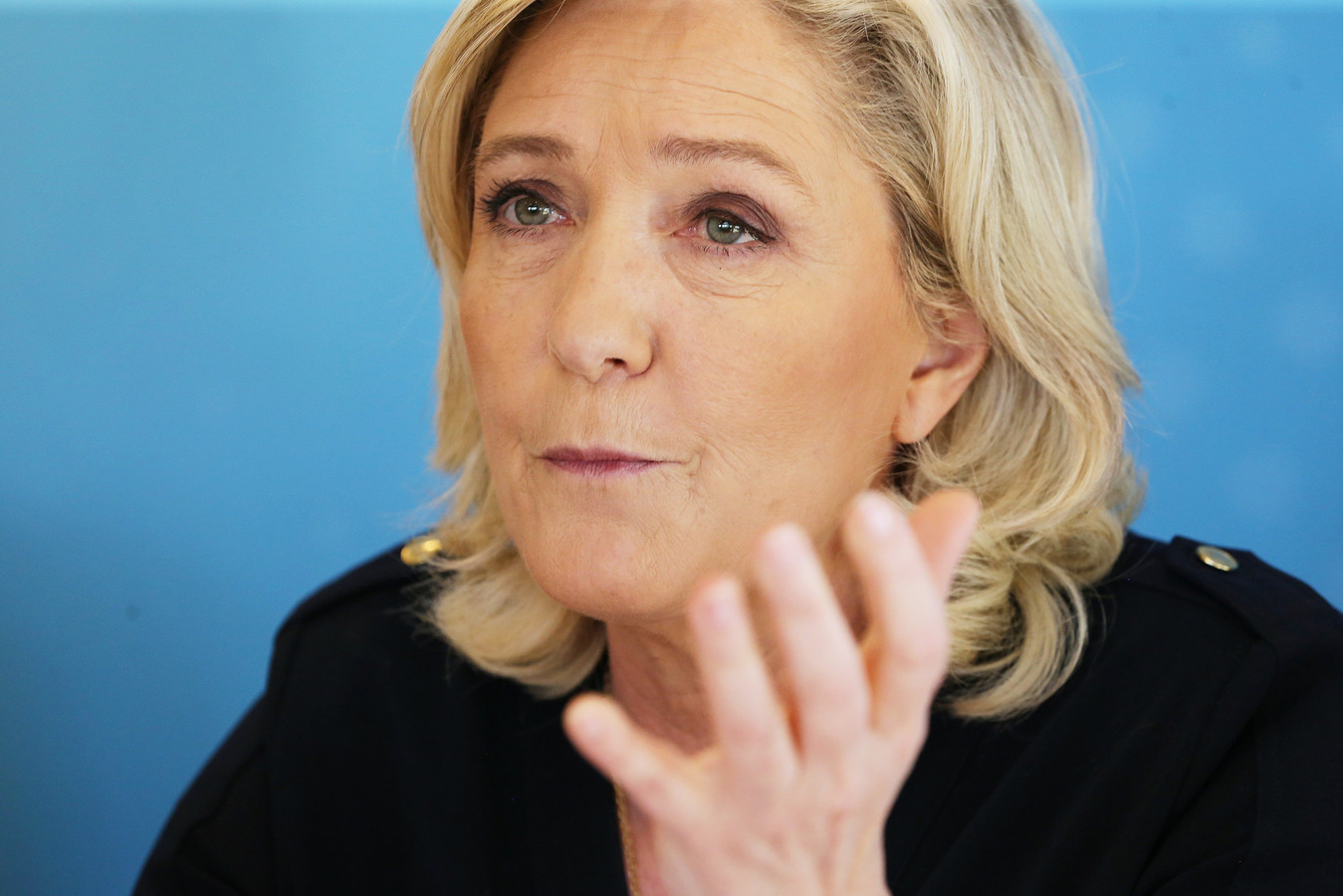 Marine Le Pen, présidente du RN.