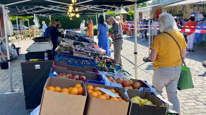 Opnieuw zaterdagmarkt in Schoten: eenrichtingsverkeer en beperkt aantal marktgangers