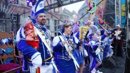 Prinsenpaar zet Carnaval Halle in de kijker