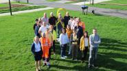 Gemeentepersoneel speldt geel lintje op tegen kanker, gemeentebestuur schenkt 1.000 euro voor KOTK