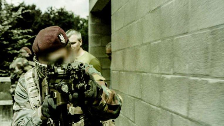 Een beeld uit de nieuwe VTM-reeks 'Special Forces'. Beeld VTM