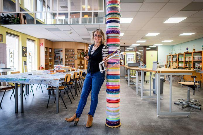 Marika Meershoek is een nieuw atelier begonnen in de voormalige apotheek waar ze workshops en kinderfeestjes gaat geven.