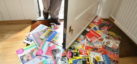 Nee! Nee! Utrechters mijden massaal reclamedrukwerk: duizenden kilo's minder papierafval