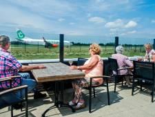 Brasserie Waalhaven - met terras aan landingsbaan vliegveld - sluit permanent de deuren