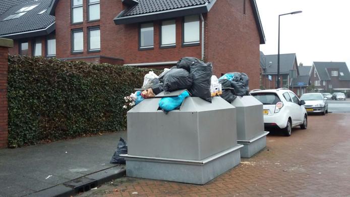 Voorheen kwamen mensen van buiten Nesselande hun afval hier dumpen.