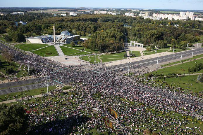 Ook vandaag kwamen duizenden mensen opnieuw op straat.