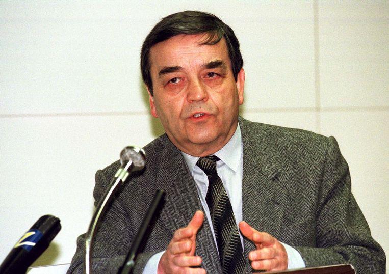 Louis Tobback in 1998. Beeld BELGA