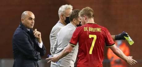 De Bruyne également absent: casse-tête offensif pour Martinez