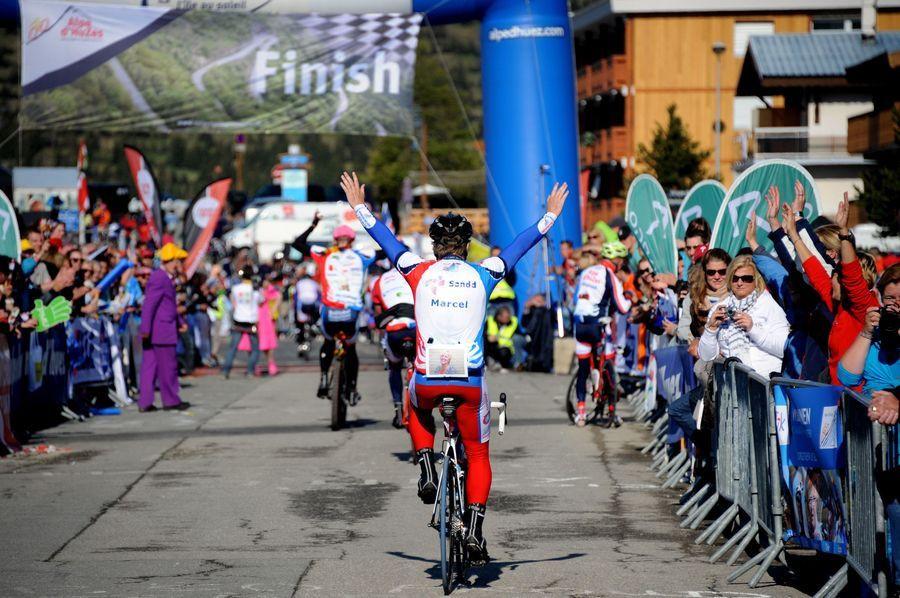 Alpe d'Huzes, 6 juni 2013.