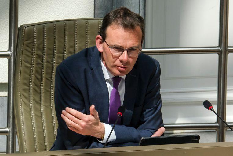 Vlaams minister van Welzijn Wouter Beke. Beeld BELGA