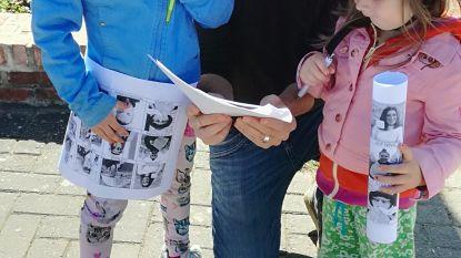 """Basisschool laat kleuters detective spelen in Zonderschot: """"Speurtocht door het dorp"""""""