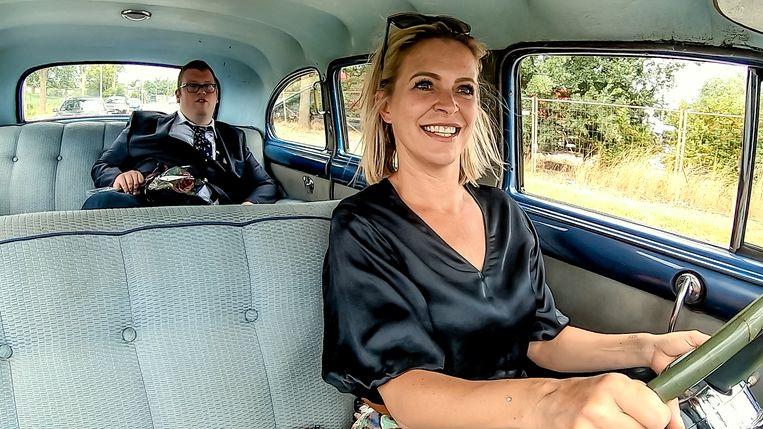 Stijn en Karen Damen in 'Cupido ofzo'. Beeld VTM