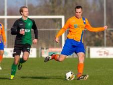 Spits Niftrik vervangt keeper, vier gele kaarten in wedstrijd Heumen en SVO'68