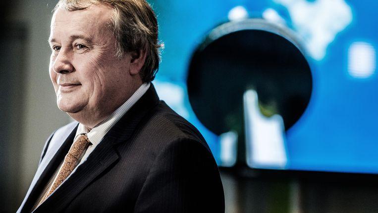 Paul Lembrechts, de nieuwe VRT-CEO. Een concurrent: 'Ze zochten duidelijk iemand die over het dagelijkse heen kon kijken.' Beeld © Bob Van Mol