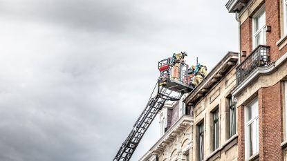 Brandje in Provinciestraat snel onder controle