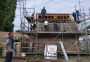 Voor de restauratie kon de Sint-Martinusgilde rekenen op VDAB-cursisten en hun instructeurs.