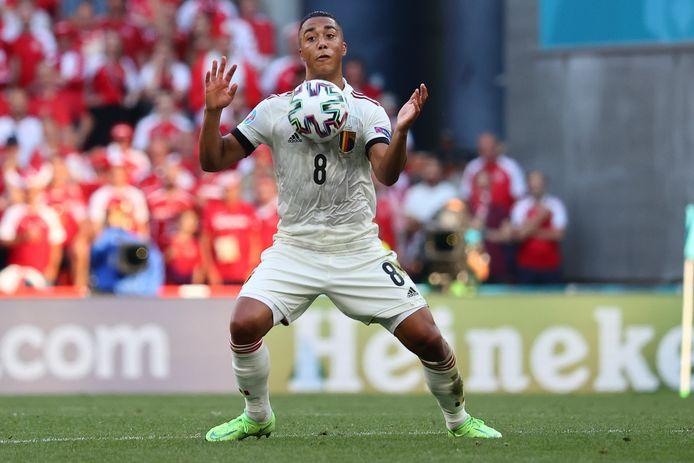 Youri Tielemans attendait mieux de ses deux premiers matchs à l'Euro, mais se tourne vers la suite du tournoi.